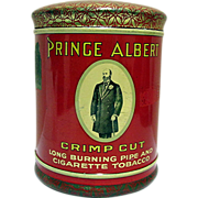 Advertising Prince Albert Domed Top Tobacco Humidor