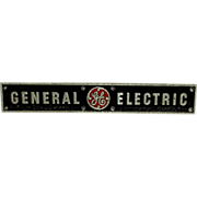 Advertising Sign General Electric Pump Station Sign from Lancaster PA