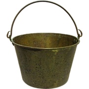 H. W. Haydens Brass Kettle