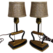 Lamp Sad Iron Table Lamps Matching Pair $79 Sale Price