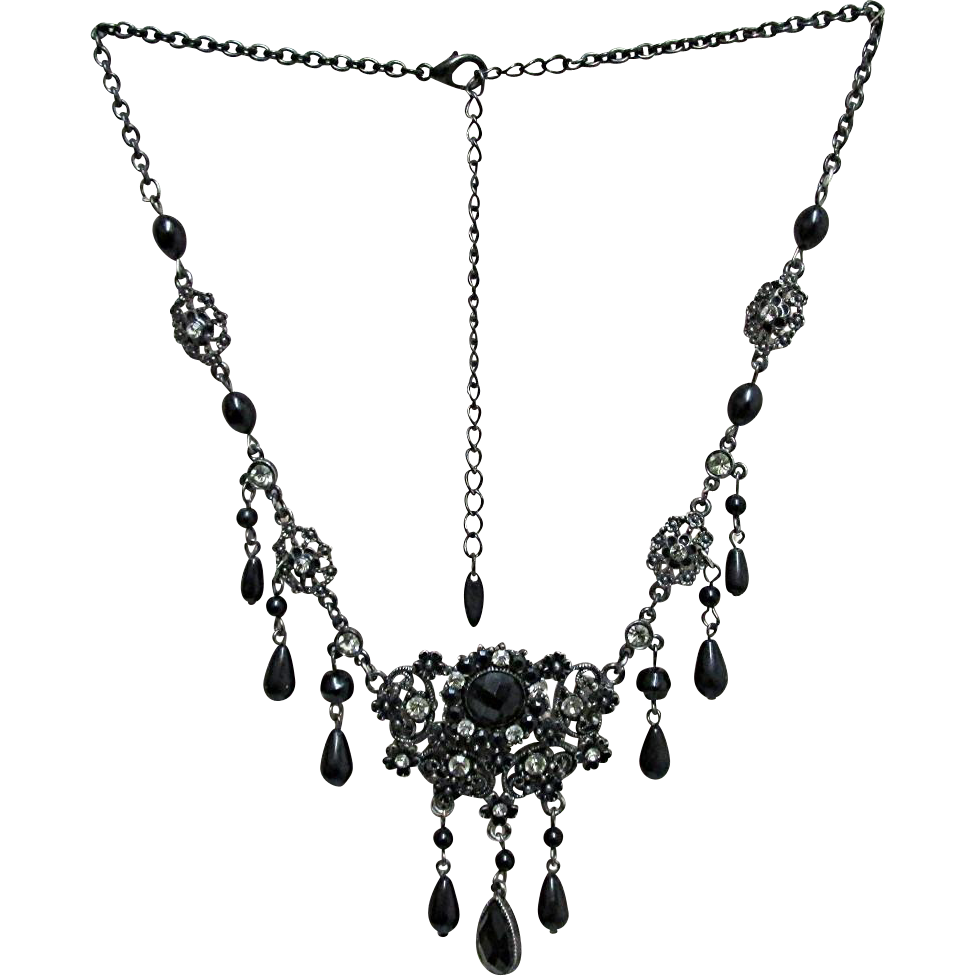 Sold Draping Victorian Style Necklace Made by VCLM