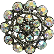 Pin or Brooch Circular Aurora