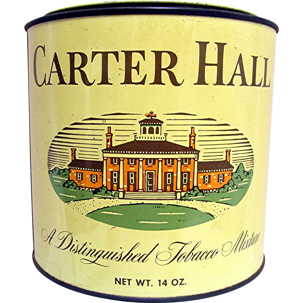 Carter Hall Tobacco Tin Unopened Sold On Ruby Lane