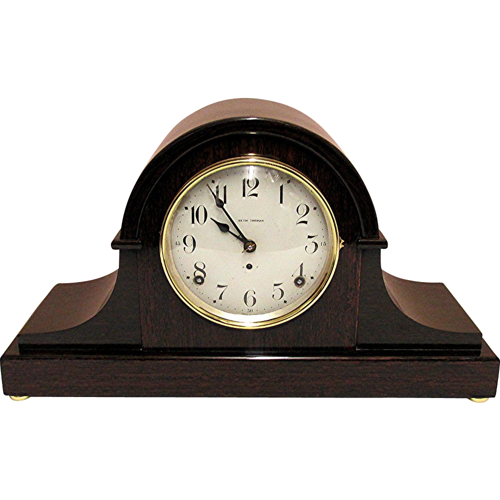 Seth Thomas Antique Mantle Clock SOLD on Ruby Lane