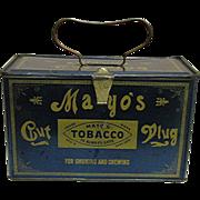 MAYO'S Advertising Tobacco Tin