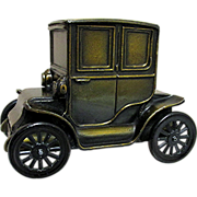 Car Bank 1910 Baker Electric Car Cast Metal