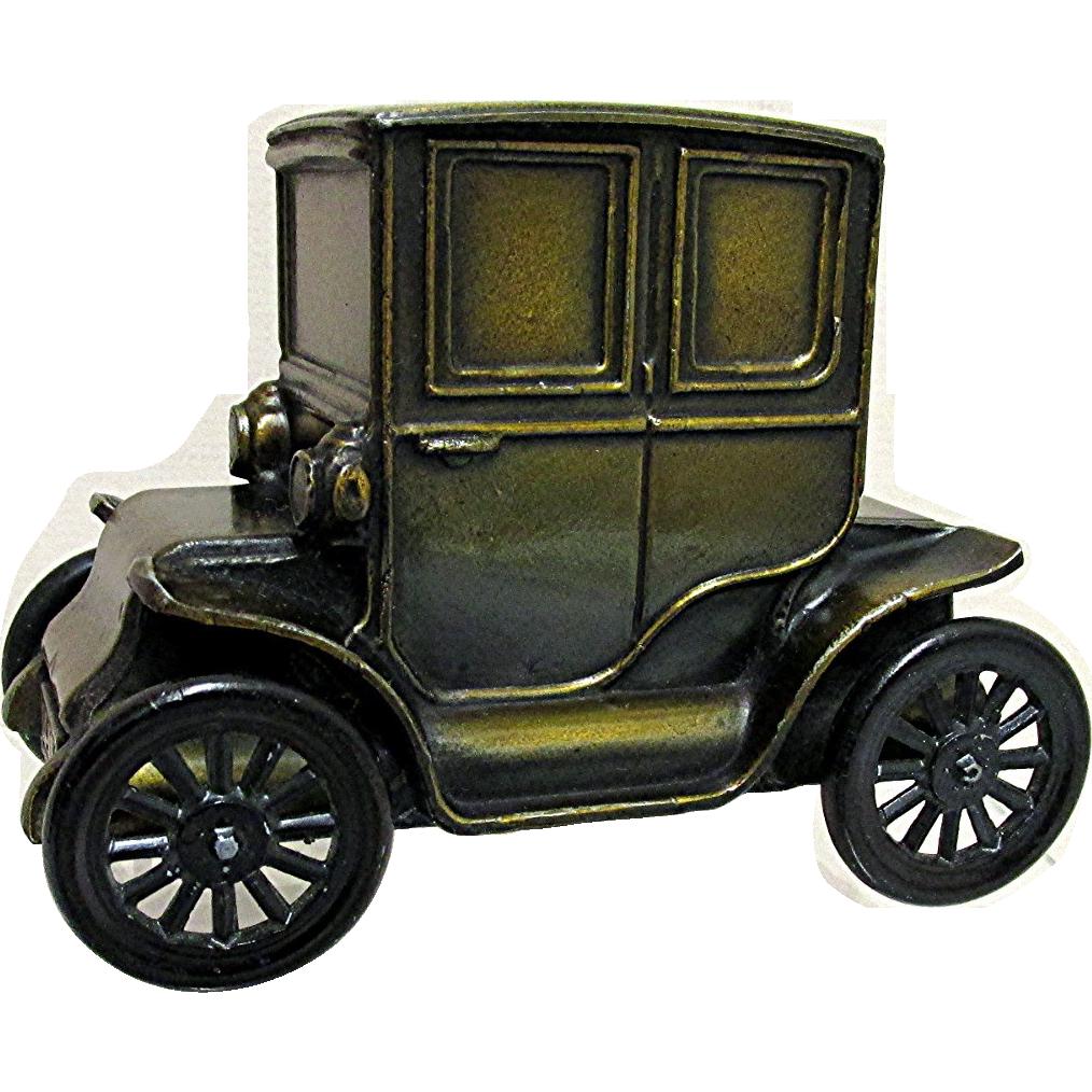 car bank 1910 baker electric car cast metal from drury on ruby lane. Black Bedroom Furniture Sets. Home Design Ideas