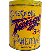 TANGO Cigar Advertising Tin