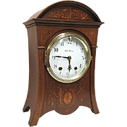 Antique Seth Thomas Inlaid Mantel Clock