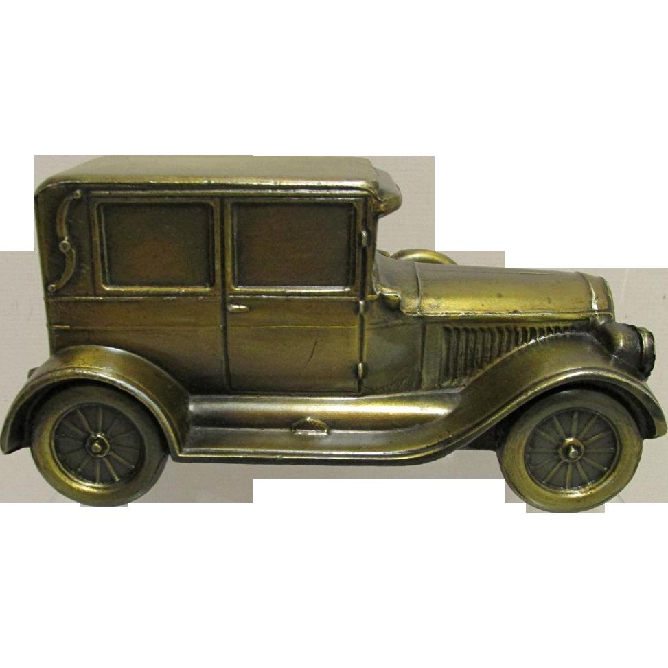 Car Bank Cast Metal  1924 Chrysler