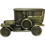 Car Bank 1908 Cadillac Cast Metal