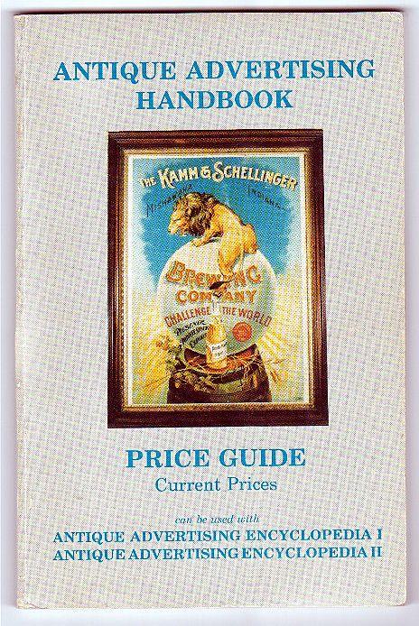 Advertising Handbook Price Guide