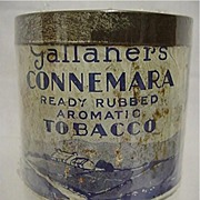 Advertising Tobacco Tin For Gallahers Tobacco