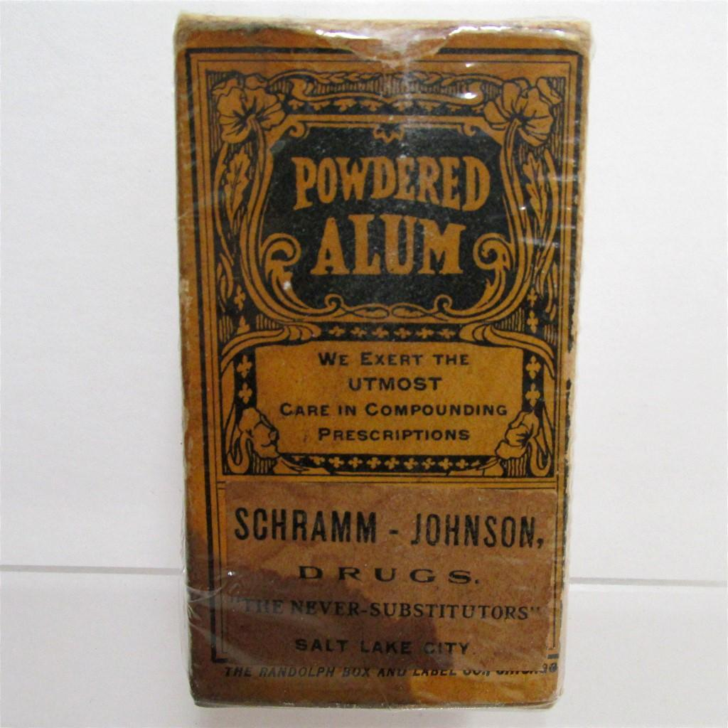 Pharmacy Advertising Item Alum Powder