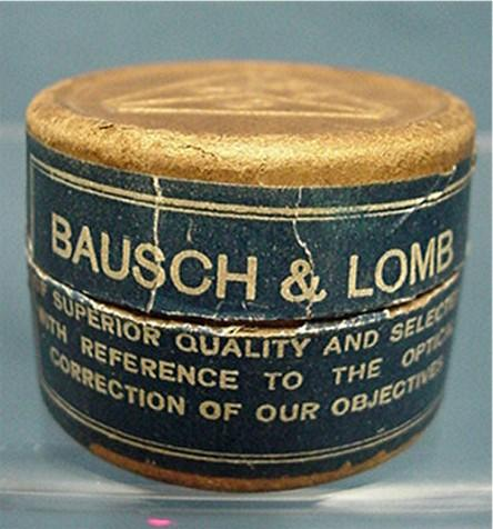 Advertising Bausch & Lomb Cover Glasses in Original Box