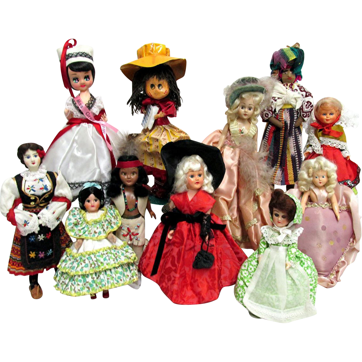 Doll Collection 11 Souvenir, International and Ethic