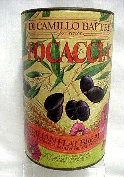 Italian Flatbread Advertising Tin from Di Camillo Bakery  Niagara Falls NY