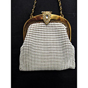 Whiting and Davis Compact Hand Bag or Purse