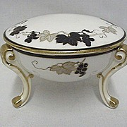 Porcelain Trinket Box Antique Nippon