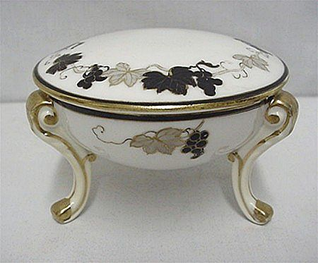 Porcelain Trinket Box Antique Nippon Certified Mark***Selling at Cost