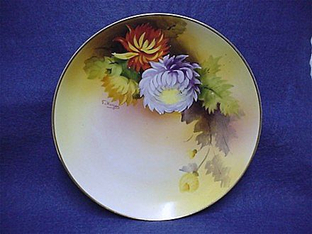 Noritake Wall Plaque Artist Signed