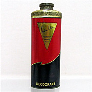 Advertising Talc Tin Helen Dawn Deodorant