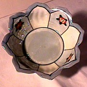 Luster Porcelain Nut Set Mint   ***Selling at Cost
