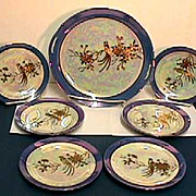 Noritake Cake Set Luster 7 Piece Set  ***Selling at Cost