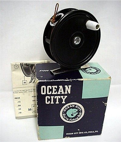 Fly Fishing Reel Ocean City #35 In Original Box