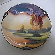Lusterware Scenic Dish by Chikaramachi