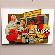 Advertising Sign For Wise Potato Chips MINT 50% OFF