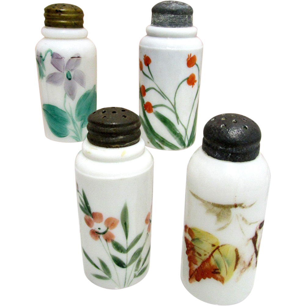 Glass Shakers American Circa 1890