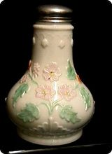 Sugar Shaker Antique American Glass 1896