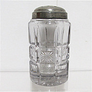 Sugar Shaker 1908 American Glass