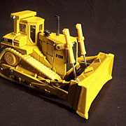Die Cast Ertl Toy Caterpillar D10N Track -type tractor--Bulldozer