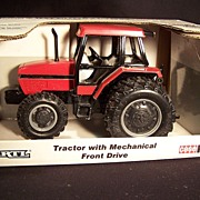Die Cast Case International Tractor with Mechanical Front Drive--Farm Toy