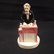 """Vintage Sebastian miniature--""""Charles Dickens"""" - Artist signed"""
