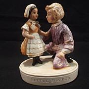 """Vintage Sebastian miniature figurine -- """"Little Sister"""""""