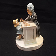 "Vintage Sebastian miniature figurine titled ""The Penny Shop House of Seven Gables"""