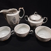 RW Bavaria 5 piece China Set-Butterfly pattern