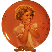 Shirley Temple - PRECIOUS - Portrait Plate by Donald Zolan