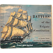 Battles of the Frigate Constitution by Theodore Thomie