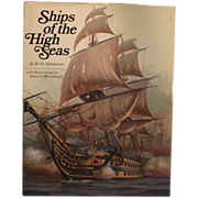 Ships of the High Seas, by Erik Abramson,  Hardcover – 1976