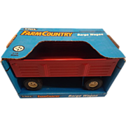 Red Barge Wagon - Ertl Farm Country - 1993
