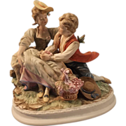 Vintage Lefton China Figurines - Hand Painted Porcelain