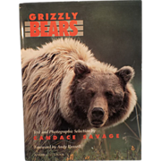 Grizzly Bears -Hardcover Book - Illustrated, 1990 Edition
