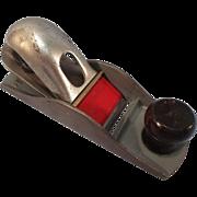 Vintage VICTOR- STANLEY No.1120 Low Profile BLOCK Plane - Woodworking Tool