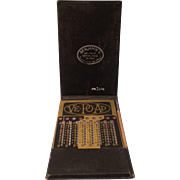 Vintage Ve-Po-Ad Adder (Vest  Pocket  Adding Machine-Calculator)