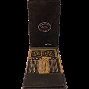 Vintage Ve-Po-Ad Adder (Vest  Pocket  Adding Machine-Calculator)