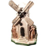 Vintage Carnival Chalkware Windmill